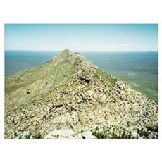 Mount Ragged Peak Ridge Photo Poster