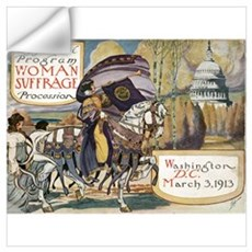 Woman Suffrage Procession Wall Decal