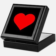 big Heart Keepsake Box