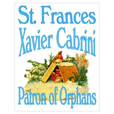 St. Frances Xavier Cabrini Poster