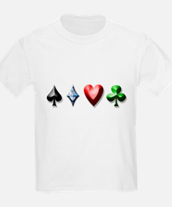 Playing Card Decal T-Shirt
