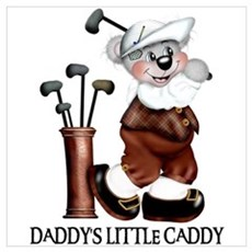 DADDY'S LITTLE CADDY Poster