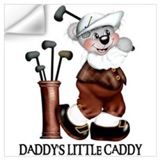 DADDY'S LITTLE CADDY Wall Decal