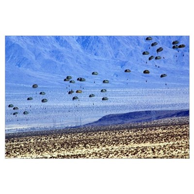 U S ARMY RANGERS Canvas Art