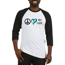 Peace, Love, My OBC Baseball Jersey