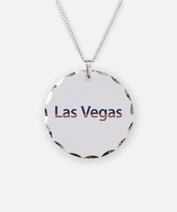 Las Vegas Stars and Stripes Necklace