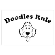 Doodles Rule Poster