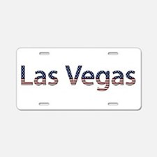 Las Vegas Stars and Stripes Aluminum License Plate
