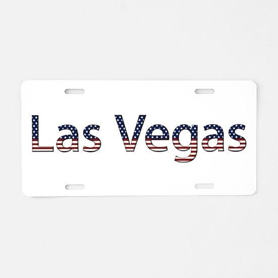 Las Vegas Stars and Stripes Aluminum License Plate
