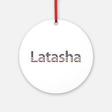 Latasha Stars and Stripes Round Ornament