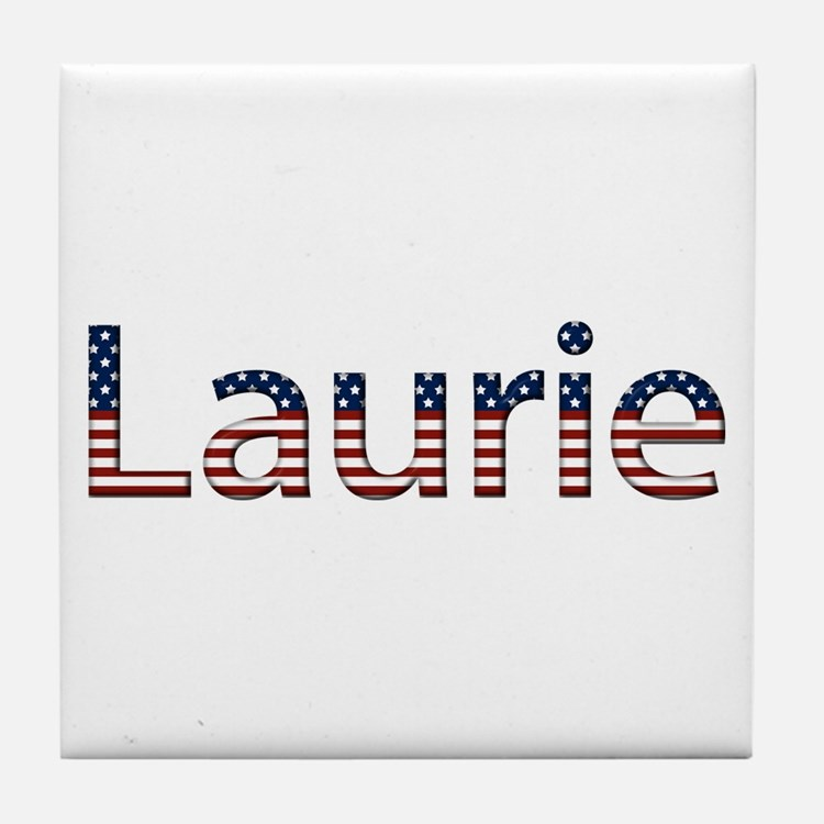 Laurie Stars and Stripes Tile Coaster