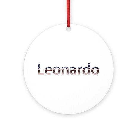 Leonardo Stars and Stripes Round Ornament