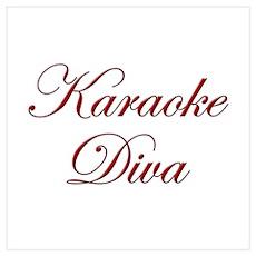 Karaoke Diva Poster