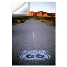 Route 66 Shield Wall Decal