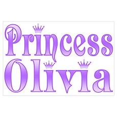 """Princess Olivia"" Poster"