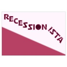 Recessionista Canvas Art