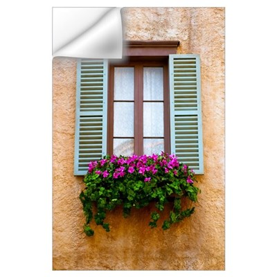 Window Flowers Wall Decal