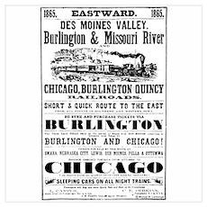 Railroad Ad Poster