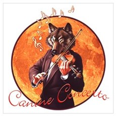 Canine Concerto #3 Poster