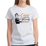 Wrong Diva Leukemia Cancer Women's T-Shirt