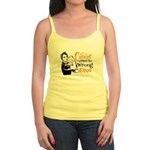 Wrong Diva Leukemia Cancer Jr. Spaghetti Tank