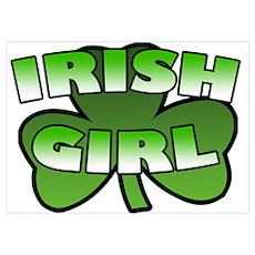 Irish Girl Poster