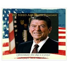 Need Another Reagan Framed Print