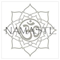 Namaste Om Poster