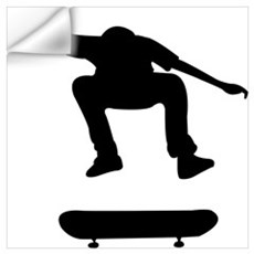 Skateboarding Wall Decal