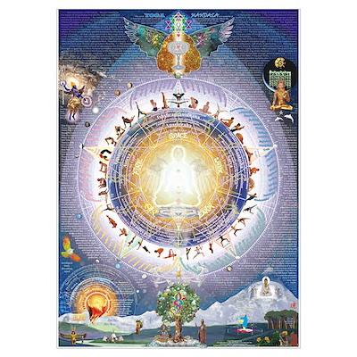 the Universal Yoga Mandala Poster