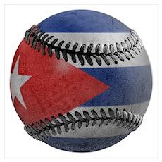 Cuban Baseball Poster