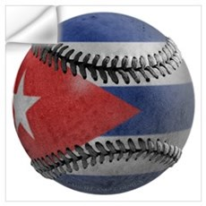 Cuban Baseball Wall Decal