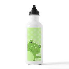 Green Leap Frog Water Bottle