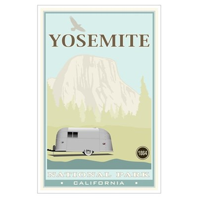 National Parks - Yosemite Poster