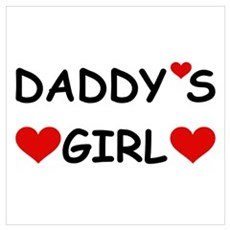 DADDY'S GIRL Canvas Art