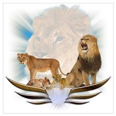 Lions Poster