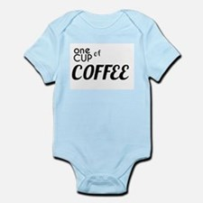 One Cup of Coffee Body Suit