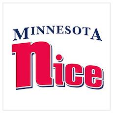 Minnesota Nice Poster