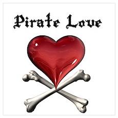 Pirate Love Poster