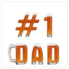 #1 Dad Poster