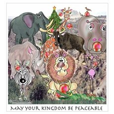 May Your Kingdom Be Peaceable Framed Print