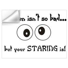 Autism Staring Wall Decal