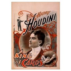 Houdini ~ King of Cards Poster