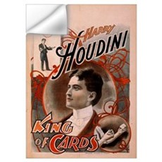 Houdini ~ King of Cards Wall Decal