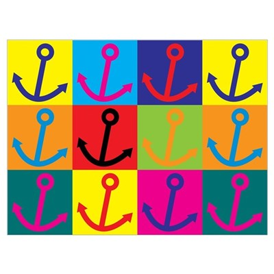 Boating Pop Art Poster