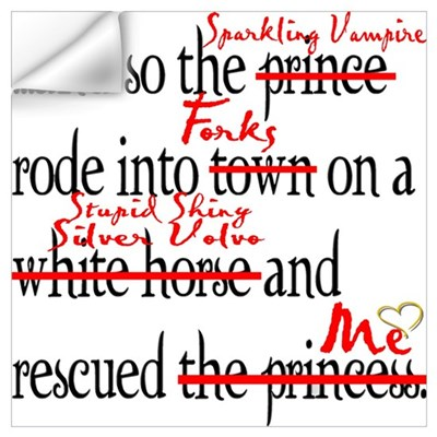 True Happy Ending Of Twilight Wall Decal