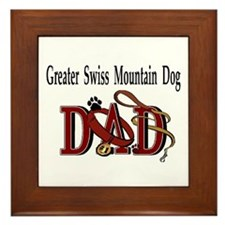 Greater Swiss Mountain Dog Framed Tile