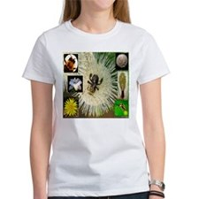 Photo Collage Flora and Fauna Tee