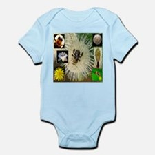 Photo Collage Flora and Fauna Infant Bodysuit