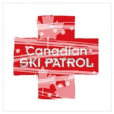Canadian Ski Patrol Poster